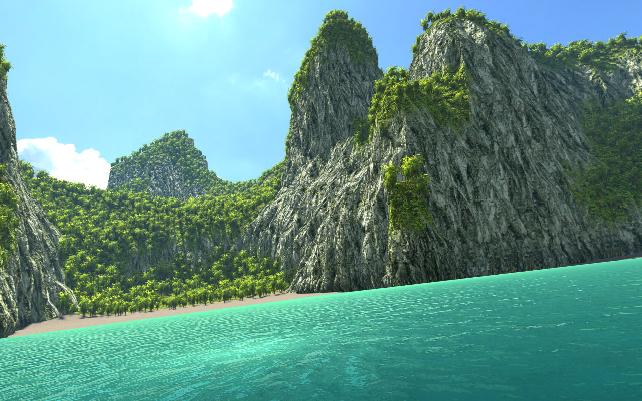 Mobile/Low-End] Water package and island environment - Unity Forum